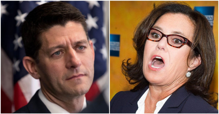 Rosie O'Donnell: Paul Ryan is Going 'Straight to Hell' (Video)