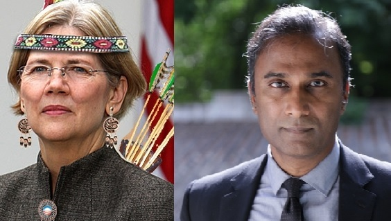 'Real Indian' Running Against Sen. Warren Sues After City Tells Him To Stop Calling Her 'Fake Indian' (Video)