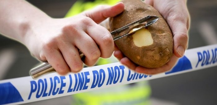 Scottish Man in Custody for Carrying Potato Peeler in Public Place Faces Jail Time