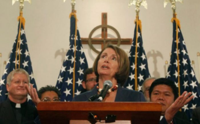"Pelosi: Trump Calling MS-13 Gang Members ""Animals"" Denies Them Sacred ""Spark of Divinity"" (Video)"
