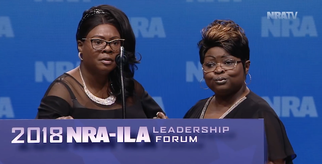 Diamond and Silk Rock at NRA Leadership Forum Tearing Into Democrats (Video)