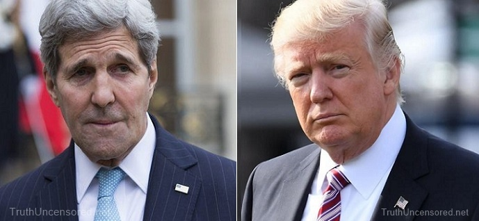 Trump Rips John Kerry For 'Illegal Shadow Diplomacy' On Iran Deal (Video)