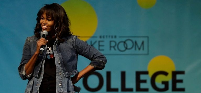 Michelle Obama Declares Herself America's 'Forever First Lady' In Front Of Crowd, She Will Regret It