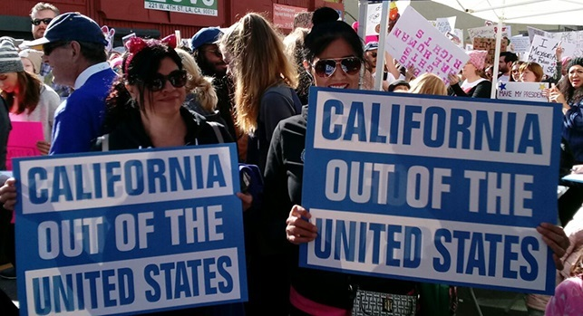 Group Pushes For California to Secede From United States (Video)