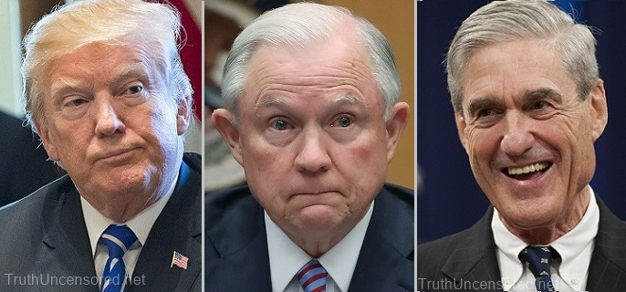 Report: AG Jeff Sessions is Robert Mueller's Key Witness in Charging Trump With Obstruction