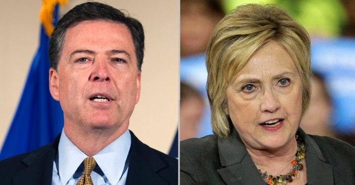 James Comey Hits Back at Hillary Clinton, Won't Apologize to Her Over Email Probe