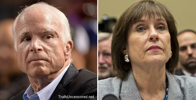 John McCain Staff Director Implicated in IRS Scandal Targeting of Tea Party and Conservative Groups