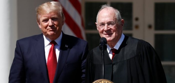 The Left Melts Down on Twitter Over News of Justice Anthony Kennedy's Retirement