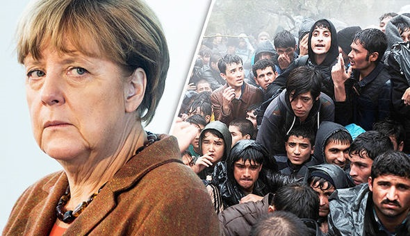 Angela Merkel's German Government Facing Collapse Over Her Immigration Stance (Video)