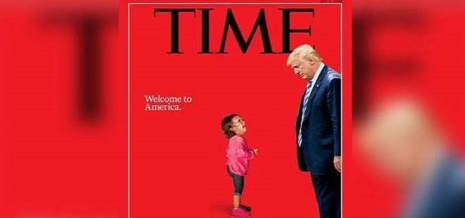 Fake News: Crying Migrant Girl on TIME Magazine Cover Was Not Separated From Her Mother