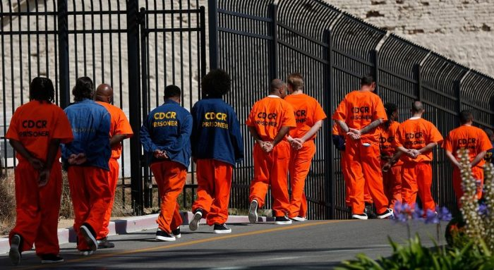 Annual Cost to House 1 Prisoner in California Now Costs More Than One Year at Leading University