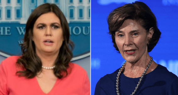 Sarah Sanders to Laura Bush: Trump is Trying to Fix a Law that Your Husband Signed (Video)