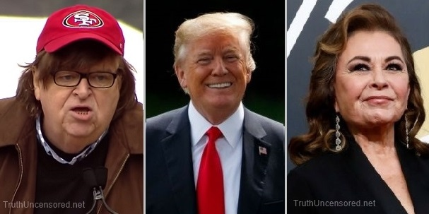 Michael Moore: Roseanne's Bigotry 'Succeeded in Electing Our Current President'