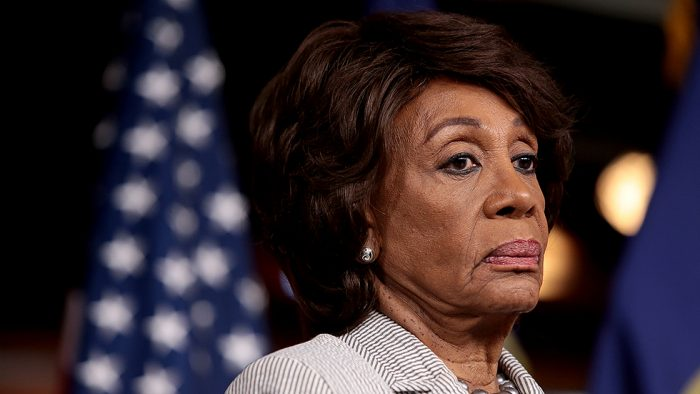 Maxine Waters Forced to Cancel Events After Receiving 'Lynching' Threat