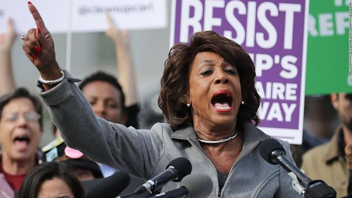 Maxine Waters Unhinged: 'America is Sick and Tired of Trump, Impeach 45!' (Video)