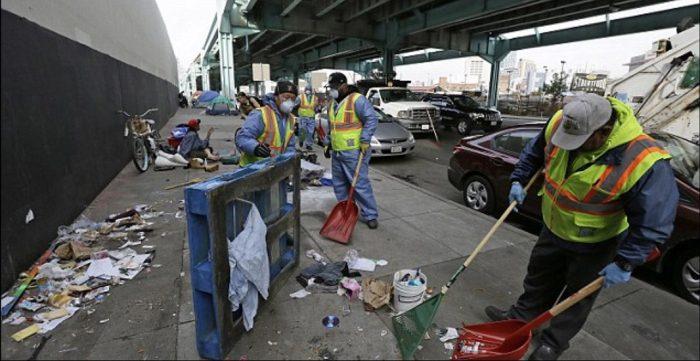 Complaints Soar as San Francisco Drowns in Human Waste