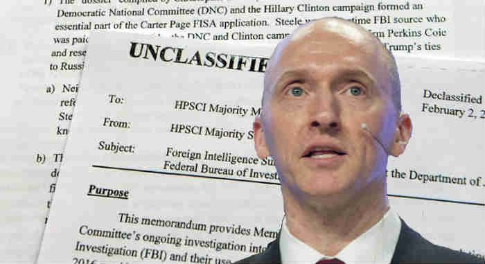 'Little Doubt' FBI & DOJ Misled Courts in Carter Page Probe – Trump on FISA Files