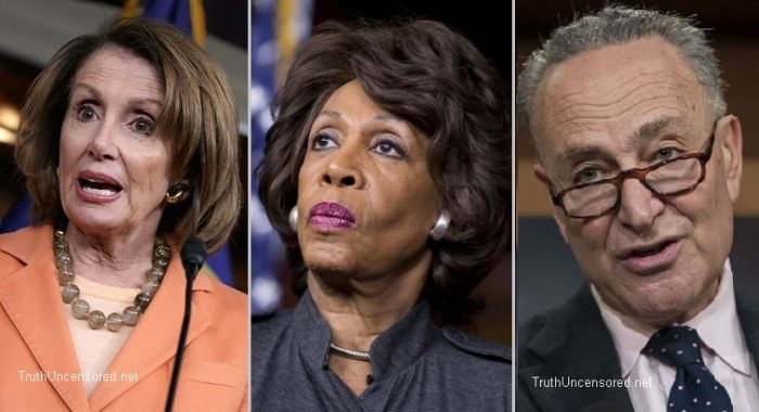 Unhinged Maxine Waters Attacks Pelosi and Schumer for Calling Her Un-American (Video)