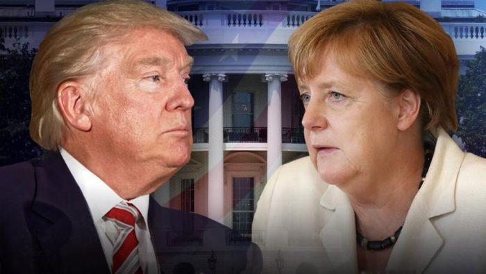 Winning: Angela Merkel Backs Down to President Trump's Demands, Willing to Cut Tariffs