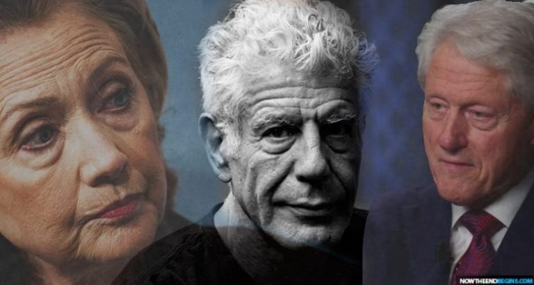 Interview Surfaces of Anthony Bourdain Exposing the Clintons Shortly Before His 'Suicide'