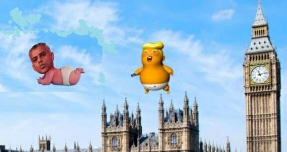PAYBACK! Online Campaign to Raise Money for 'Baby Khan' Blimp During Trump Visit Exceeds Target
