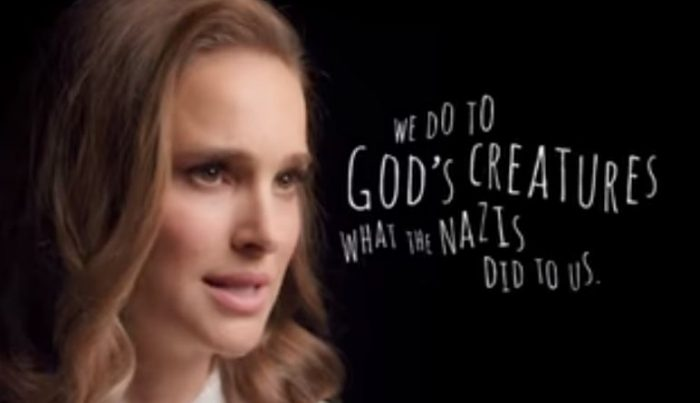 WATCH: Natalie Portman Compares Treatment of Animals to the Nazi Holocaust