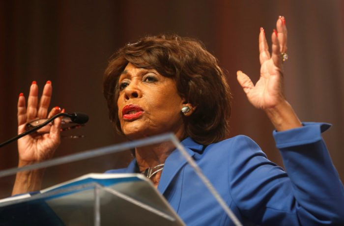 Unhinged Maxine Waters Declares in Church That God Sent Her to Get Donald Trump (Video)