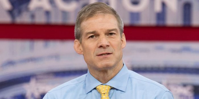 Deep State Targets Jim Jordan With Vicious Smear Campaign After Announcing Speakership Plans