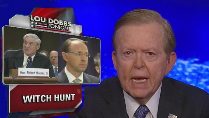 'He's on a Jihad!': Fox News Host Lou Dobbs Rips Mueller Over Trump investigation (Video)