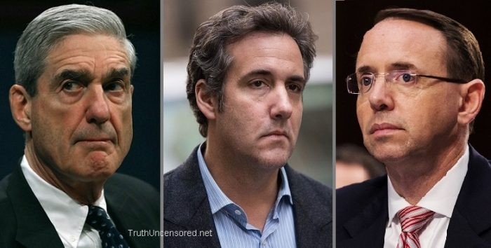 Judicial Watch Goes After Mueller and Rosenstein Over Raid Conducted on Michael Cohen (Video)