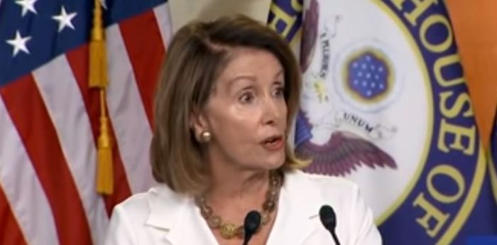 Speech Problems Mar Pelosi Appearance: Says Tax Cut Will Add '2 Children Dollars More' to Deficit (Video)