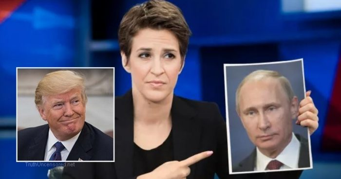 "Rachel Maddow: ""Worst Case Scenario That President Trump is a Foreign Agent"" (Video)"