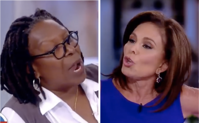 Whoopi Goldberg Abruptly Ends Interview With Jeanine Pirro: 'I'm Done!' (Video)