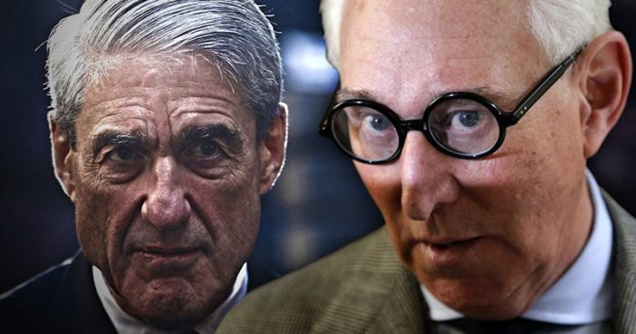 Roger Stone Predicts: 'Crooked Special Counsel Mueller Will Indict Me Next'