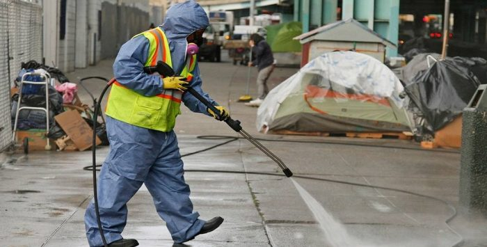 Diseased Streets: San Francisco Deploys Squads to Clear Streets of Human Feces (Video)