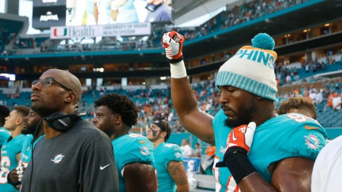 'A Slap in the Face!': Florida Police Unions Urge Miami Dolphins Boycott After Anthem Protests