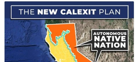 'Buffer Zone': New Calexit Plan Would Give Native Americans Half of State