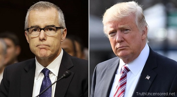 Trump Threatens to 'Get Involved' in Fight to Obtain Andrew McCabe Text Messages