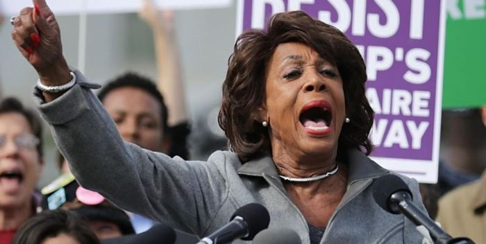 Activist Group Selling Merchandise Inspired by Rep. Waters: 'Be Like Maxine' (Video)
