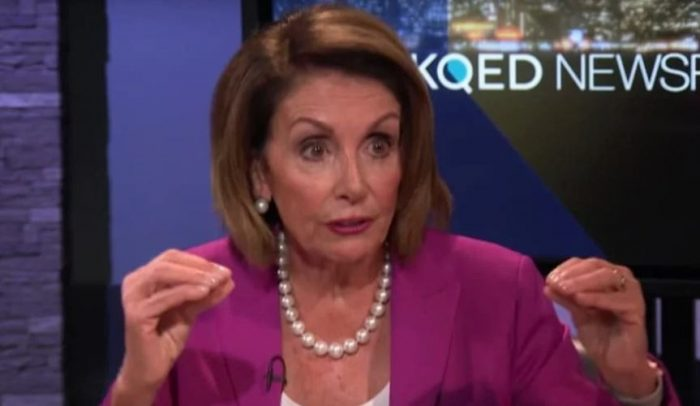 Nancy Pelosi: Trump 'Afraid of Women, Minorities and LGBTQ Community in Midterms' (Video)