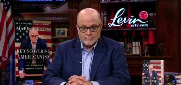Levin: If You Don't See Attempt of 'Coup' By Dems to Sabotage Trump, 'You Are Blind' (Video)