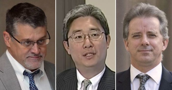 DC in a Frenzy Over Bruce Ohr's Steele Dossier Testimony