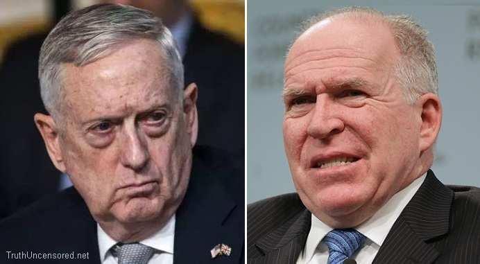 Defense Secretary Mattis Weighs in on Trump Revoking Brennan's Security Clearance