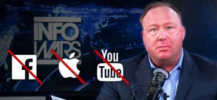 Censorship or Justice? Twitter Debate Rages After Tech Giants' Simultaneously Ban InfoWars