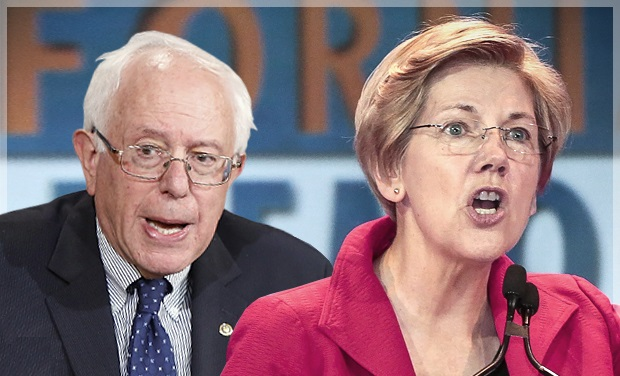 Bernie Sanders and Elizabeth Warren Do Late-Night TV Praising Socialism (Video)