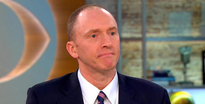 Warrants to Spy on Carter Page Were Obtained Without FISA Court Hearings
