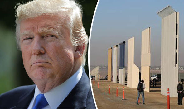 Trump Considering Pentagon to Build the Wall: 'Two Options, Military and Homeland Security'