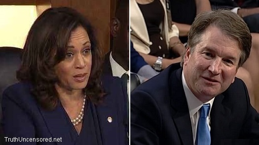 How Embarrassing! Harris Grills Kavanaugh About Mueller Only to Find Out He Worked With Him (Video)