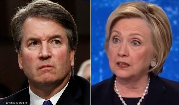 Hillary Clinton Bashes Judge Kavanaugh With Debunked Fake News Claim