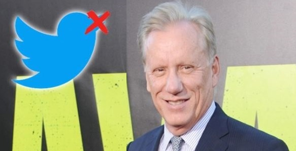 Pro-Trump Actor James Woods Strikes Back After Twitter Ban: 'Man Up and Slit My Throat'